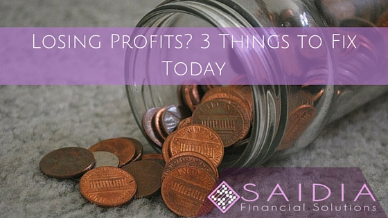 Losing Profits 3 Things to Fix Today