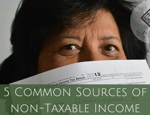 5 Common Sources of Non-Taxable Income